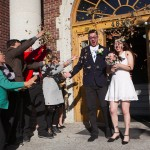 Wedding in Old courthouse